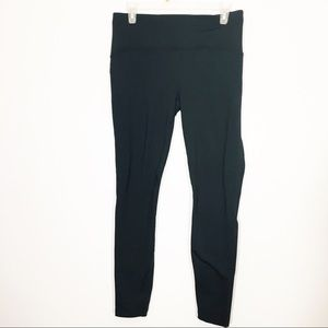 Lululemon fast fleece leggings black Sz 10